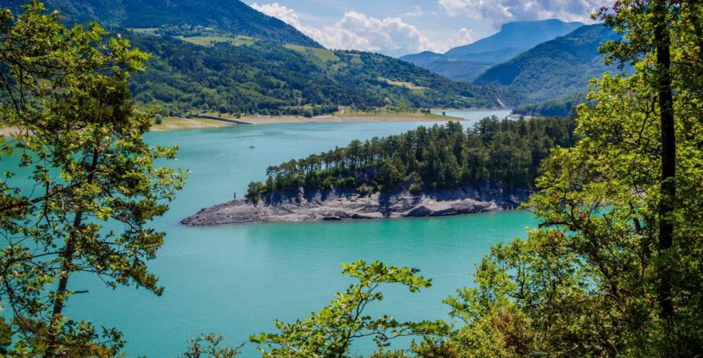 Les meilleures randonnées du lac de monteynard