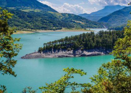 Les 4 meilleures randonnées autour du Lac de Monteynard